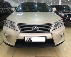 Bán Lexus RX350 Luxury vàng cát sản xuất 2014, đăng ký 2014 tư nhân xe rất mới giá 2 tỷ 500 tr tại Hà Nội