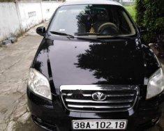 Cần bán gấp Daewoo Gentra đời 2009, màu đen, nhập khẩu nguyên chiếc giá 170 triệu tại Hà Tĩnh