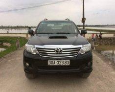 Cần bán lại xe Toyota Fortuner sản xuất năm 2014, màu đen, giá 810tr giá 810 triệu tại Hà Nội