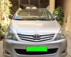 Cần bán lại xe Toyota Innova G đời 2012, màu bạc chính chủ giá 452 triệu tại Tp.HCM