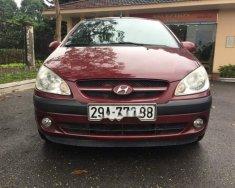 Bán xe Hyundai Click sản xuất 2008, màu đỏ, nhập khẩu nguyên chiếc số tự động, giá chỉ 240 triệu giá 240 triệu tại Hà Nội