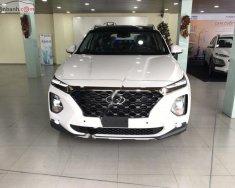 Bán Hyundai Santa Fe 2.2L HTRAC đời 2019, màu trắng giá 1 tỷ 195 tr tại Hà Nội