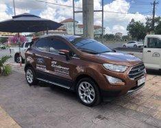 Cần bán xe Ford EcoSport Titanium năm 2018, màu nâu như mới giá 599 triệu tại Cần Thơ