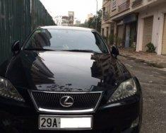Cần bán Lexus IS 2.5V6 AT năm 2006, màu đen, xe nhập giá 635 triệu tại Hà Nội