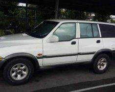 Cần bán Ssangyong Musso đời 2004, màu trắng, nhập khẩu nguyên chiếc giá 150 triệu tại Tp.HCM