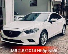 Bán Mazda 6 2.5 2014 trắng  tư nhân giá 710 triệu tại Hà Nội