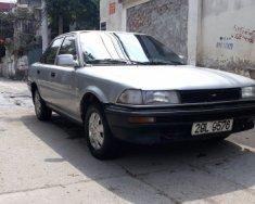 Bán Toyota Corolla 1.3 MT đời 1988, màu bạc giá 42 triệu tại Hà Nội