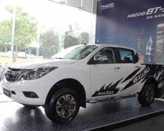 Bán ô tô Mazda BT 50 2.2MT sản xuất 2019, màu trắng, nhập khẩu nguyên chiếc giá 620 triệu tại Gia Lai