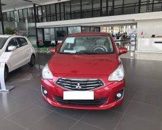 Mitsubishi Attrage 1.2 MT sản xuất 12/2018 màu đỏ, vừa mới đăng ký 10/03/2019 biển Hà Nội giá 435 triệu tại Hà Nội