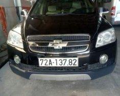 Bán Chevrolet Captiva MT năm 2008, màu đen, ngay một đời chủ đăng ký mua mới giá 285 triệu tại BR-Vũng Tàu