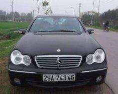 Bán Mercedes C240 sản xuất 2004, màu đen, nguyên bản, sơn zin không lỗi nhỏ giá 235 triệu tại Nghệ An