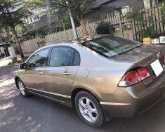 Cần bán xe Honda Civic 2009, màu vàng cát, tự động, còn mới giá 375 triệu tại Tp.HCM