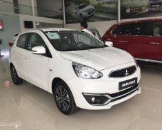 Bán xe Attrage Mitsubishi CVT, màu trắng, nhập khẩu, trả trước 150 triệu lấy xe ngay, LH 0911.821.457 giá 475 triệu tại Quảng Trị