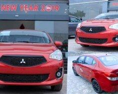 Bán ô tô Mitsubishi Attrage sản xuất năm 2019, màu đỏ, nhập khẩu giá cạnh tranh, liên hệ: 0911.821.457 giá 405 triệu tại Quảng Trị