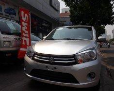 Cần bán xe Suzuki Celerio MT màu bạc, xe phù hợp kinh doanh dịch vụ giá 329 triệu tại Tp.HCM