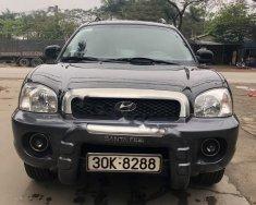 Cần bán gấp Hyundai Santa Fe đời 2003, màu đen, nhập khẩu giá 285 triệu tại Hà Nội