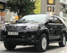 Cần bán xe Toyota Fortuner 2.7V sản xuất 2012, màu đen giá 668 triệu tại Hà Nội