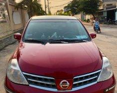 Cần bán xe Nissan Tiida đời 2008, màu đỏ, xe nhập xe gia đình giá 320 triệu tại Tp.HCM