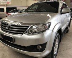 Cần bán lại xe Toyota Fortuner 2.7V 4x2 AT năm 2013, màu bạc chính chủ giá 790 triệu tại Tp.HCM