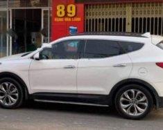 Bán xe Hyundai Santa Fe 2.4L 4WD sản xuất 2014, màu trắng xe gia đình giá 900 triệu tại Bình Thuận