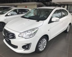 Cần bán Mitsubishi Attrage đời 2018, màu trắng, xe thuộc phân khúc Sedan, 5 chỗ ngồi, 4 cửa giá 376 triệu tại Đà Nẵng