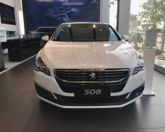 Bán xe Peugeot 508 1.6L AT Turbo 2015, màu trắng, nhập khẩu chính hãng giá 1 tỷ 190 tr tại Tp.HCM