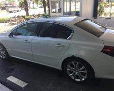 Bán ô tô Peugeot 508 1.6 AT năm sản xuất 2015, màu trắng, nhập khẩu, xe sang thương hiệu Pháp giá 1 tỷ 190 tr tại Tp.HCM