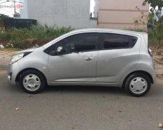Cần bán xe Spark 2012, số tay, máy xăng, màu xám, nội thất màu ghi, odo 80000 km giá 180 triệu tại Tp.HCM