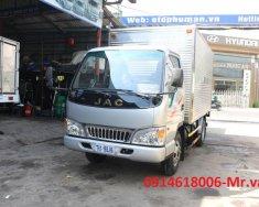 Xe tải JAC 2T4 thùng dài 4m3 động cơ Isuzu chính hãng giá 340 triệu tại Tp.HCM