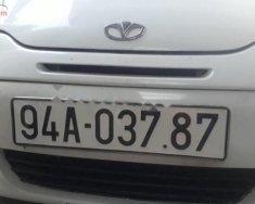 Bán xe Daewoo Matiz SE 0.8 MT sản xuất năm 2003, màu trắng, xe nhà sử dụng giá 83 triệu tại Bạc Liêu