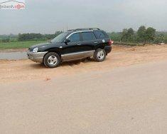 Cần bán xe Hyundai Santa Fe Gold 2.0 AT năm sản xuất 2003, màu đen, xe nhập   giá 260 triệu tại Hà Nội