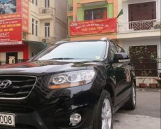 Cần bán Hyundai Santa Fe SLX EVGT 2010, màu đen, nhập khẩu, xe 1 chủ sử dụng từ mới nguyên bản giá 666 triệu tại Hà Nội