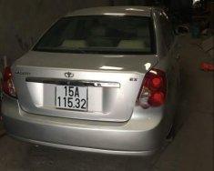 Bán Daewoo Lacetti 2009, màu bạc xe gia đình, giá 220tr giá 220 triệu tại Hải Phòng