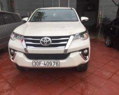 Cần bán xe cũ Toyota Fortuner năm sản xuất 2017, màu trắng giá 1 tỷ 100 tr tại Hà Nội