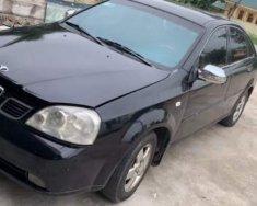 Bán gấp Chevrolet Lacetti 2005, màu đen, nhập khẩu nguyên chiếc giá 123 triệu tại Nghệ An