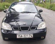 Bán Daewoo Lacetti năm sản xuất 2005, màu đen, giá chỉ 145 triệu giá 145 triệu tại Hải Phòng