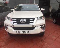 Bán Toyota Fortuner 2.7V 4x2 AT đời 2017, màu trắng, xe nhập, không đâm đụng giá 1 tỷ 100 tr tại Hà Nội