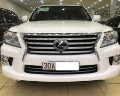 Cần bán gấp Lexus LX 570 đời 2013, màu trắng, nhập khẩu chính hãng  giá 4 tỷ 550 tr tại Hà Nội