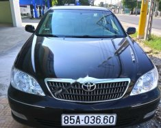 Bán ô tô Toyota Camry 2.4G sản xuất năm 2002, màu đen giá 295 triệu tại Ninh Thuận