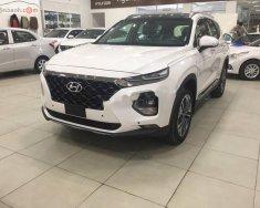 Bán xe Hyundai Santa Fe 2.2L HTRAC đời 2019, màu trắng giá 1 tỷ 195 tr tại Hà Nội
