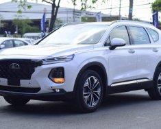 Bán xe Hyundai Santa Fe sản xuất 2019, màu trắng giá 1 tỷ 280 tr tại Tp.HCM