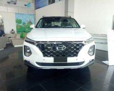 Bán xe Hyundai Santa Fe 2.4AT đời 2019, màu trắng giá 1 tỷ 140 tr tại Cần Thơ