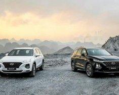 Bán ô tô Hyundai Santa Fe Prenium đời 2019, màu trắng giá 1 tỷ 180 tr tại Hà Nội