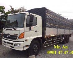 Xe tải Hino FL 3 chân, ga cơ, thùng nhôm siêu dài, mới 100%, LH: 0901 47 47 38 giá 1 tỷ 530 tr tại Tp.HCM