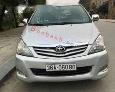 Bán xe Toyota Innova G đời 2009, màu bạc giá 380 triệu tại Thanh Hóa
