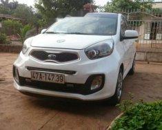 Cần bán Kia Morning 2015, màu trắng số sàn giá 250 triệu tại Đắk Lắk