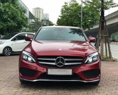 Bán C300 AMG model 2017, màu đỏ giá 1 tỷ 580 tr tại Hà Nội
