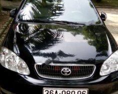 Cần bán xe Toyota Corolla altis 1.8 năm 2002, màu đen giá 220 triệu tại Thanh Hóa