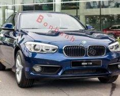 Bán BMW 118i năm 2018, màu xanh lam, nhập khẩu giá 1 tỷ 439 tr tại Hà Nội