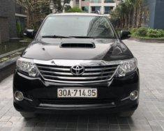 Bán Toyota Fortuner 2.5 MT sản xuất 2015, màu đen chính chủ, giá 770tr giá 770 triệu tại Hà Nội